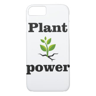 Plant power iPhone 8/7 case