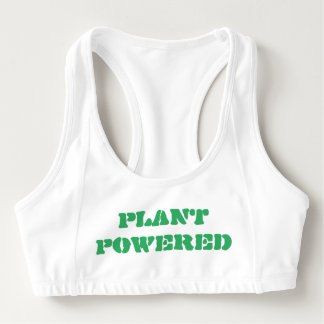 PLANT POWERED SPORTS BRA
