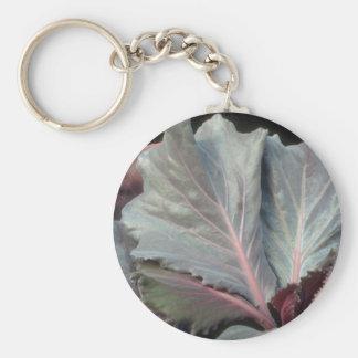 Plant Purple Cabbage Key Chains