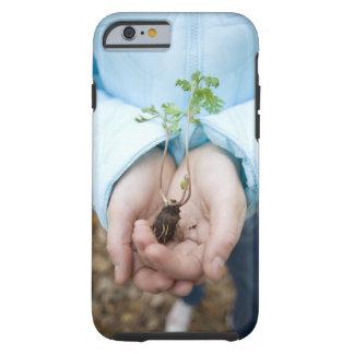 Plant seedling tough iPhone 6 case