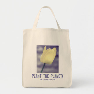 Plant the Planet! Grocery Tote Grocery Tote Bag