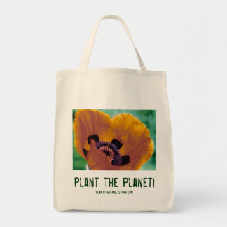 Plant the Planet! tote bag
