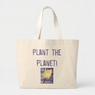Plant the Planet! Jumbo Tote Bag