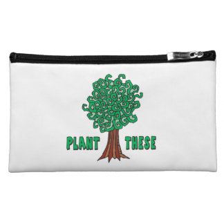 Plant Trees Cosmetic Bags