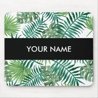 Plant Tropical Botanical Palm Leaf Mouse Mat