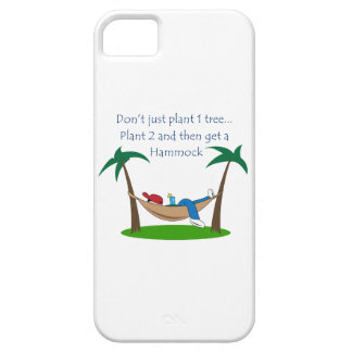 PLANT TWO TREES BARELY THERE iPhone 5 CASE