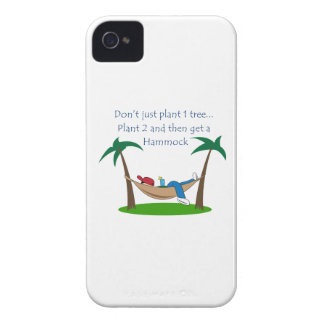 PLANT TWO TREES iPhone 4 COVER