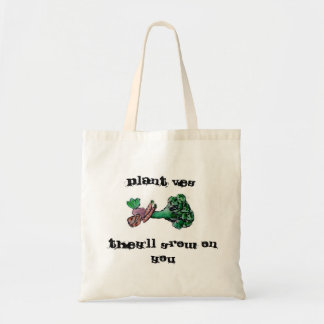 Plant Veg Tote Budget Tote Bag