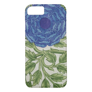 Plant with a blue flower (w/c on paper) iPhone 8/7 case