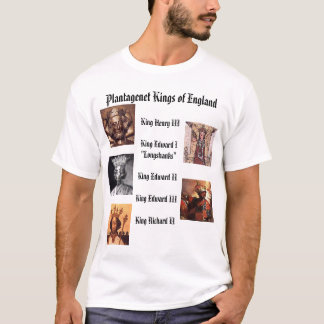 Plantagenet Kings of England T-Shirt