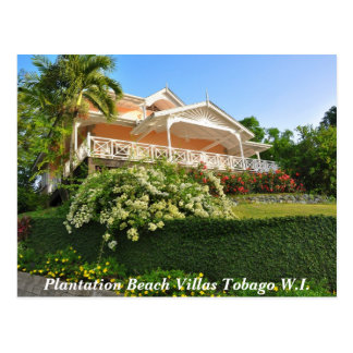 Plantation Beach Villas Tobago W.I. Postcard