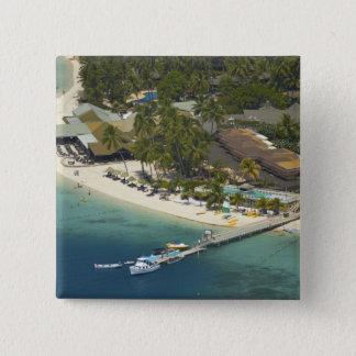 Plantation Island Resort, Malolo Lailai Island 15 Cm Square Badge
