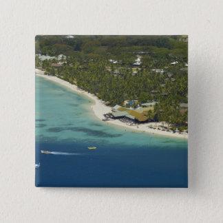 Plantation Island Resort, Malolo Lailai Island 2 15 Cm Square Badge