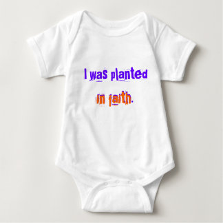 Planted in Faith Infant Creeper