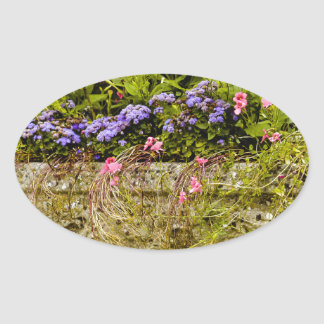 Planter Oval Stickers