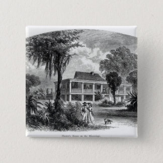 Planter's House on the Mississippi 15 Cm Square Badge
