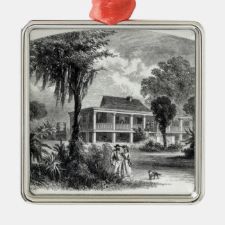 Planter's House on the Mississippi Christmas Ornament