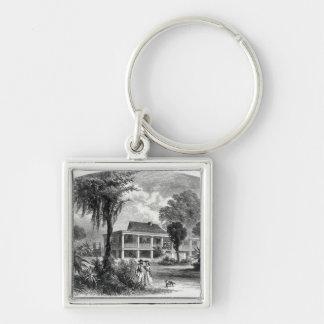 Planter's House on the Mississippi Key Ring