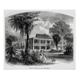 Planter's House on the Mississippi Poster