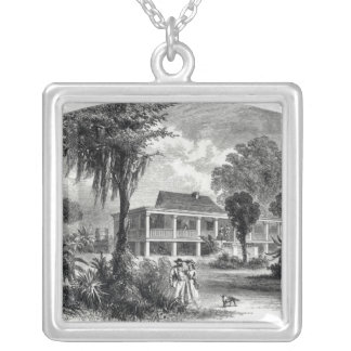 Planter's House on the Mississippi Silver Plated Necklace