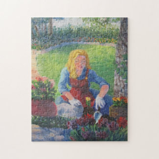Planting Flowers Jigsaw Puzzle