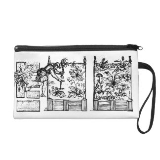 Planting in raised beds, from 'The Gardener's Laby Wristlet Purse