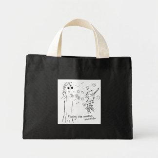 Planting the Positive Mini Tote Bag