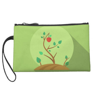 Planting what you will harvest green flat design wristlets