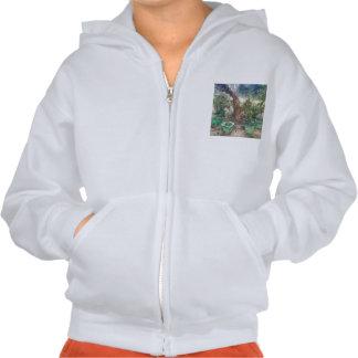 Plants and a tree sweatshirt