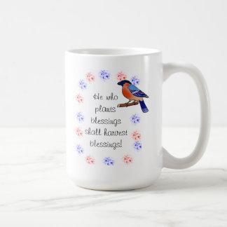 Plants blessings mug