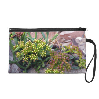 plants in the rocks wristlet purses