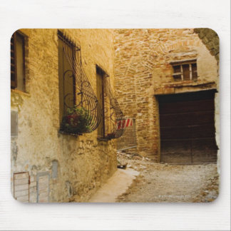 Plants in window boxes, San Gimignano, Siena Mouse Mat