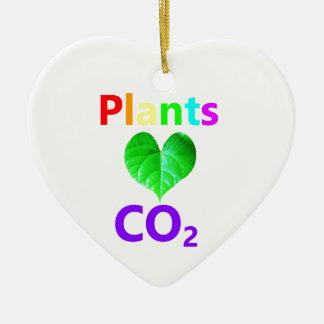 Plants Love CO2 Christmas Ornament