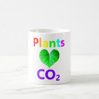 Plants Love CO2 Mug