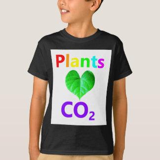 Plants Love CO2 T-Shirt