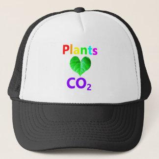 Plants Love CO2 Trucker Hat