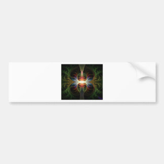 Plant's Rainbow Of Life Reflection Bumper Sticker