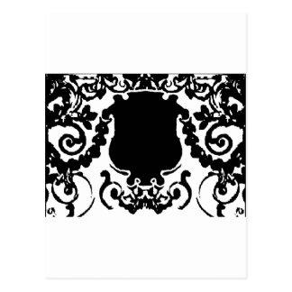 Plaque Black White jGibney The MUSEUM Zazzle Gifts Postcard