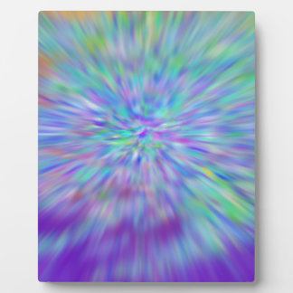 Plaque color abstract