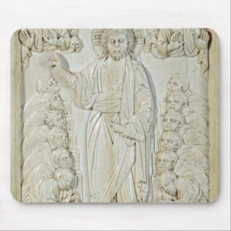 Plaque depicting Christ blessing the Apostles Mouse Mat