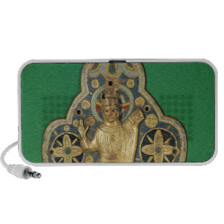 Plaque depicting God blessing Mp3 Speakers