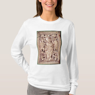 Plaque depicting King David enthroned T-Shirt
