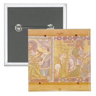 Plaque depicting St. Mark 15 Cm Square Badge