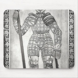 Plaque depicting the armour of Joan of Arc Mouse Pad