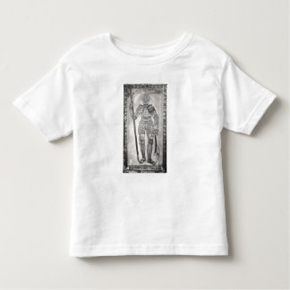 Plaque depicting the armour of Joan of Arc Toddler T-Shirt