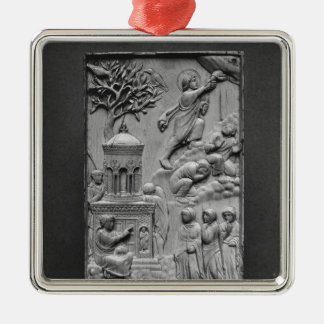 Plaque depicting the Ascension Christmas Ornament