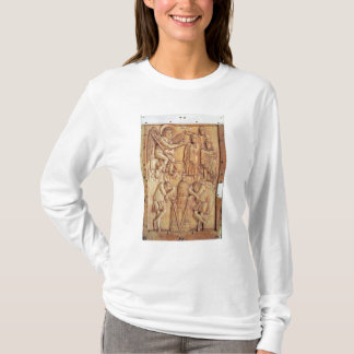 Plaque depicting the Holy Women at the Tomb T-Shirt