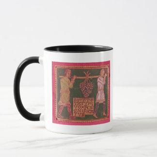 Plaque from a cross mug