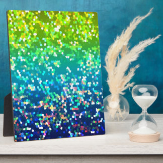 Plaque Glitter Graphic Background