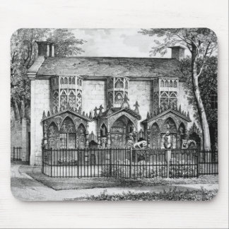 Plas Newyyd, near Llangollen, Wales, the seat of L Mouse Mat